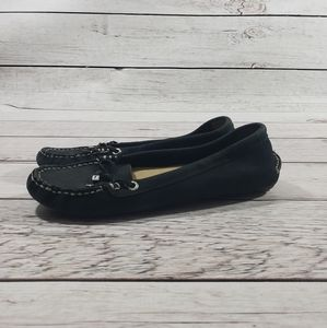Sperry top side Navy suede loafer flats size 7.5